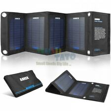 Anker 14W Portable Foldable Outdoor Solar USB Charger with PowerIQ 5V2.1A