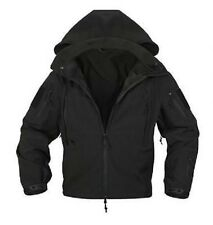 US SPEC OPS Softshell Fleece TACTICAL SOFTSHELL JACKET JACKE Black 6XL XXXXXXL