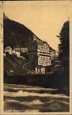 Pontresina Graubünden Schweiz s/w AK ~1920/30 Blick auf Schloßhotel ungelaufen
