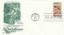 (43244) CLEARANCE USA FDC Christmas Washington DC 14 October 1975