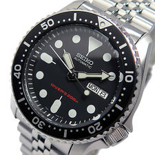SEIKO AUTOMATIC SCUBA DIVER SKX007 SKX007K2 200M WR STAINLESS STEEL BAND NO BOX