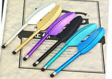 New Feather Stylus Touch Screen Pen for iPhone 5 iPad iPod Touch Samsung Galaxy