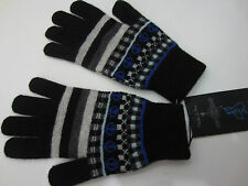 """Paul Smith 100% Wolle """"FAIR ISLE"""" Handschuhe One Size Hergestellt in Schottland"""