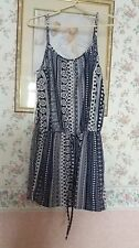 Womens Size 16 Navy Blue and White Play Suit by Atmosphere