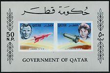 Raumfahrt Space 1966 Block I Gagarin Tereshkova Unissued S/S ** MNH/674
