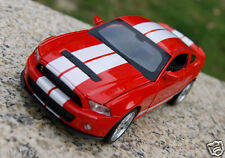 1:32 Ford Shelby GT500 Alloy Diecast Car Model Sound & Light Collection Red