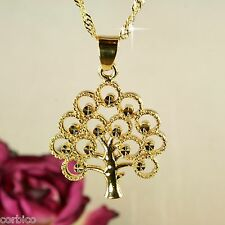 N1 18K Gold Filled Tree of Life Necklace & Pendant - Gift boxed