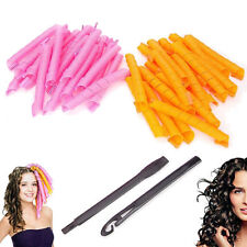 ... Curl DIY Hair Curlers Tool Styling Rollers Spiral Circle Magic Roller