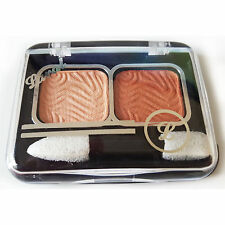 Laval Mixed Doubles Duo Eyeshadow Eye Shadow Palette ~ Peach Mist