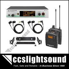 SENNHEISER EW300-2-IEM G3 DUAL IN-EAR MONITORING SYSTEM