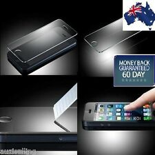 2 X Scratch Resist Tempered Glass Screen Protector for Apple iPhone SE 5S 5C