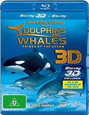 Dolphins And Whales - Tribes Of The Ocean 3D -  NEW Blu-Ray