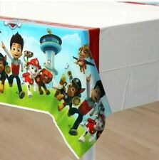 PAW PATROL TABLECLOTH TABLE COVER TABLE CLOTH LOLLY LOOT PACK BAG BIRTHDAY PARTY