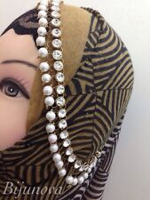 PEARL HEAD PIECE HAIR PIECE SCARF HIJAB MATHA PATTI DAMNI SIDE PIECE BRIDAL