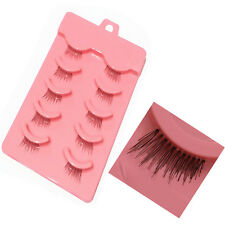 New Hot 5Pairs/Lot Half Mini Corner Fake Eye Lashes Beauty Daily False Eyelashes