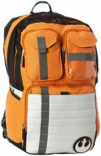 Star Wars Rebel Alliance Icon Cosplay Orange Backpack School Bag Laptop Purse