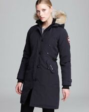Women's Canada Goose' 'Rideau' Slim Fit Down Parka, Size Small - Grey
