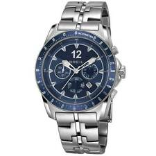 Breil Watch TW1137 Mens Blue Dial Chronograph Brand NEW Tags Attached