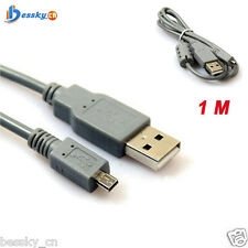 1M 8pin Camera Data USB Cable Cord for Nikon for Canon for SONY for Casio Camera
