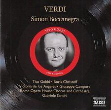 VERDI: SIMON BOCCANEGRA / 2 CD-SET - NEUWERTIG