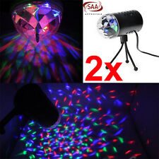 2x Mini Laser Projector LED RGB DJ Disco Light Stage Lighting Show Xmas Party