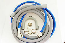 WASHING MACHINE / DISHWASHER FILL WATER & DRAIN HOSE EXTENSION KIT 3.5 M + GIFT