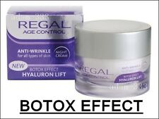 REGAL AGE CONTROL ANTI WRINKLE Collagen NIGHT CREAM HYALURON LIFT HIGH QUALITY