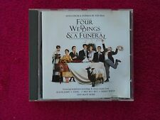 FOUR WEDDINGS AND A FUNERAL: SONGS FROM & INSPIRED BY THE FILM   - CD (1994)