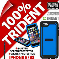 New Trident Cyclops Blue Protective Case Rugged Armour for Apple iPhone 6 / 6S