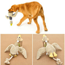 Funny Pet Cat Dog Puppy Chew Squeaker Squeaky Plush Sound Duck Chew Training Toy