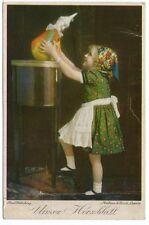 """Ältere Farb-Ansichtskarte """"Unser Herzblatt""""   (838)"""