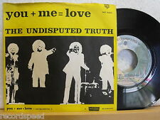 """7"""" Single - THE UNDISPUTED TRUTH - You + Me = Love - WB 16 804 // 1976"""