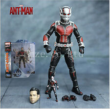 Marvel Select Avengers ANT-MAN Unmasked Exclusive Action Figure Figurine