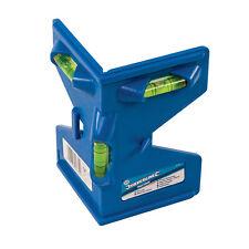 Pfosten Wasserwaage 135 mm  90° / 180° Libellen magnetisch / Spannband 11791