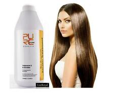 Pure Brazilian Keratin Hair Straightening Treatment Blow Dry 1000 ml  33.8 oz.