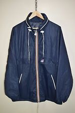 vtg 80s K-WAY CLASSIC CLAUDE RAIN COAT KAGOOL CAGOULE JACKET RETRO SIZE 7 LARGE
