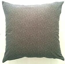 Handmade Black and Grey  Abstract Home Decor Cushion Cover 45x45
