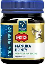 (8,76€/100g) Manuka Health Aktiver Manukahonig Manuka Honey MGO 100+ - 250 g