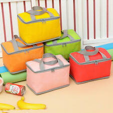 Waterproof Thermal Cooler Insulated Lunch Case Portable Tote Storage Picnic Bag