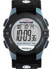 """Timex T41091, Men's """"Expedition"""" Digital Watch, Indiglo, Alarm, T410919J"""