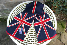 """SCARF NEW UNION JACK - KNITTED - 6FT X 11"""" - MENS - WOMENS - WINTER - WARM -UK"""