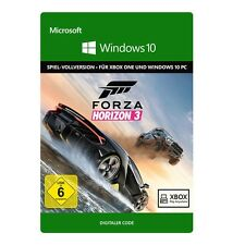 Forza Horizon 3 - offizieller Play Anywhere Key Win-Store Download Code PC Xbox