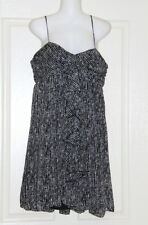 Womens size 14 black and white short dress made by MISS SHOP