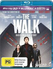 The Walk (3D Blu-ray ONLY, 2016) BRAND NEW not Shrinked wrapped