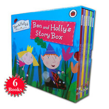 Ben and Holly's Little Kingdom Large Library Story Box Collection 6 Books Set