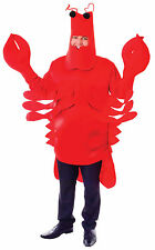 Adult Lobster Fancy Dress Costume Under The Sea Creature Crab Animal Outfit New