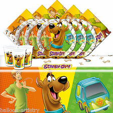 Scooby Doo Mystery Machine  Children's Birthday Party Tableware Pack For 16