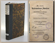 Geschichte 3. Reformations-Jubelfest Mühlhausen Thüringen 14. September 1842 xz