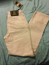 """NWT Women's """"Istante"""" Jeans, Beige, Size 6 By VERSACE"""