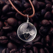 Women Crystal Glass Leather Ladies Long Pendant Necklace Cute Fashion Gift